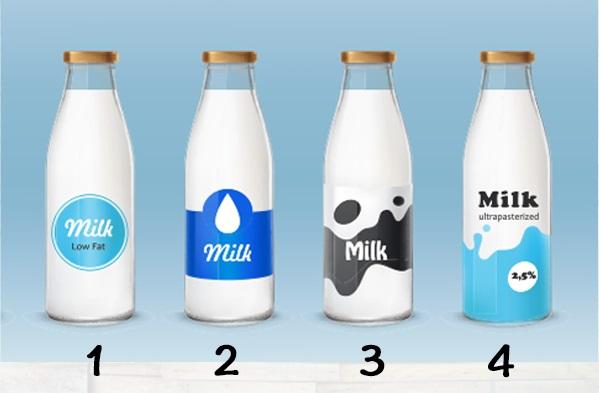Trắc nghiệm: Phơi bày những góc tối trong bạn qua chai sữa yêu thích