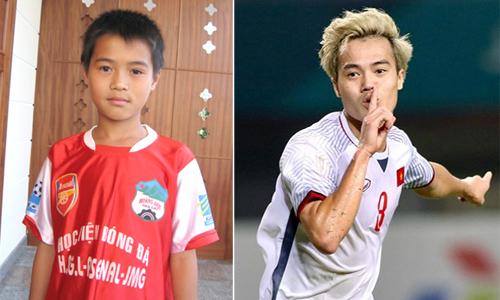 10 năm trước khi VN đoạt Cup, các chàng trai bây giờ chỉ là những cậu bé