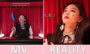 Lên MV 'Yes or Yes' đẹp là thế mà hậu trường của Twice lại siêu lầy