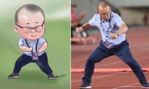 Những khoảnh khắc 'đáng yêu vô đối' của thầy Park