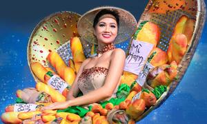 H'Hen Niê được reo hò khi trình diễn 'Bánh mì' ở Miss Universe