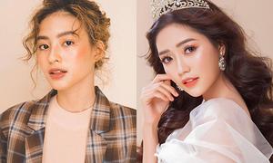 Dàn hot girl hai miền 'chạm trán' trong cuộc thi do Minh Tú làm host