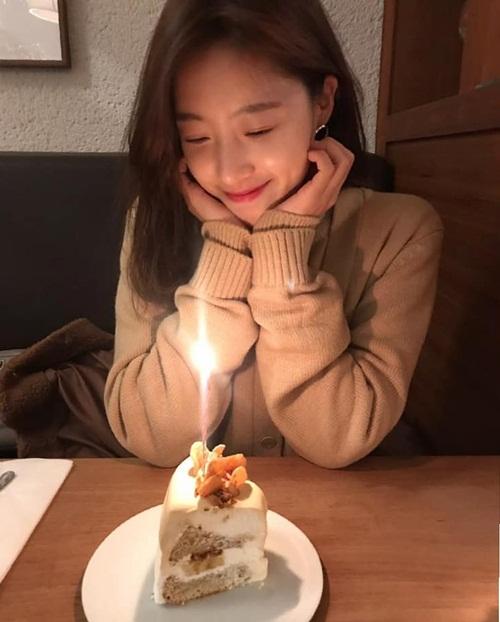 Eun Jung (T-ara) mừng sinh nhật tuổi 30 ấm áp.