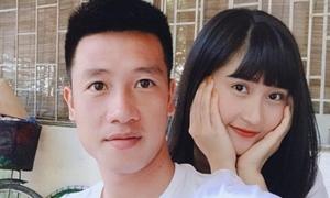 Bạn gái xinh đẹp của cầu thủ Huy Hùng
