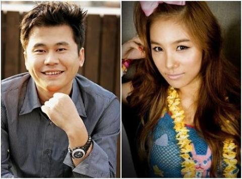 Chủ tịch Yang và vợ Lee Eun Joo.