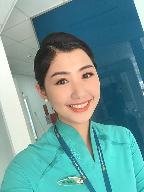 Người đẹp Phạm Ngọc Linh.