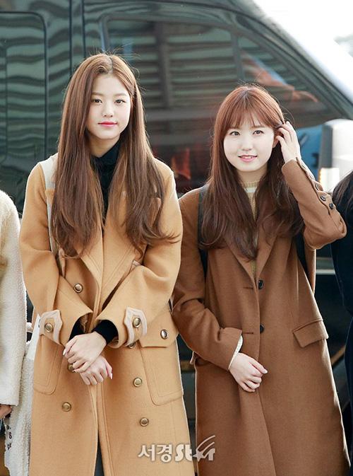 Center Jang Won Young chỉ mói 14 tuổi nhưng có chiều cao vượt trội so với các thành viên trong nhóm.