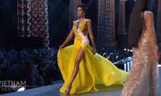 Màn xoay váy 'đỉnh cao' của H'Hen Niê khiến khán giả Thái Lan reo hò