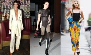 5 chân dài có phong cách sành điệu nhất 2018