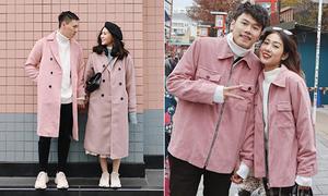 3 hot couple Hà thành với style đôi mùa đông đẹp như trong phim