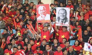 'Chảo lửa' Mỹ Đình đỏ rực trong trận chung kết AFF Cup