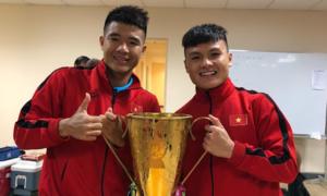Sau chiến thắng, các cầu thủ ăn mừng như thế nào?