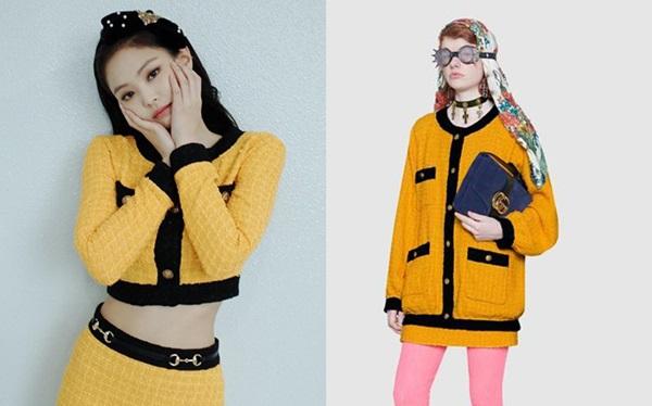 Thành viên Black Pink nhận nhiều chỉ trích khi mặc đồ Gucci giống đồ Chanel.