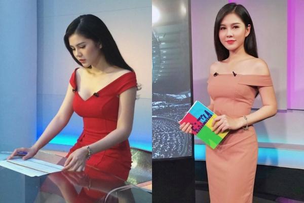 Thông tin về cô gái này nhanh chóng được tìm ra, đó là nữ BTV Vũ Thu Hoài, sinh năm 1990, đang công tác tại một đài truyền hình.