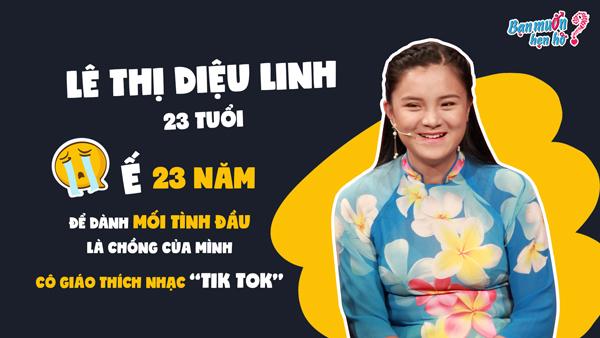 Cô giáo 9x Diệu Linh tham gia Bạn muốn hẹn hò.