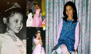 Tân Hoa hậu Hoàn vũ xinh đẹp từ khi còn nhỏ