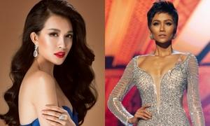 H'Hen Niê đánh mất trang sức mượn của Lệ Hằng khi thi Miss Universe