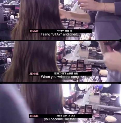 Jennie khẳng định mình sáng tác Stay trong một video hậu trường mới.