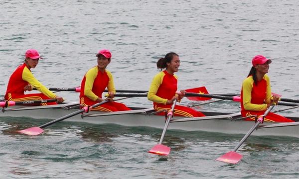 4 cô gái Rowing Việt Nam xứng danh Ngôi sao Thể thao bởi nghị lực cao - 1