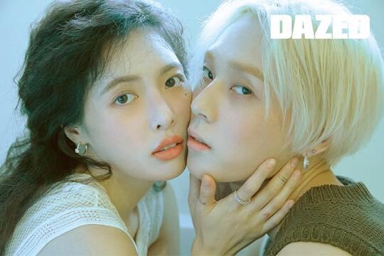 Sau khi kết thúc hợp đồng với công ty quản lý Cube, Hyun Ah và EDawn công khái xuất hiện cùng nhau sự kiện. Họ cũng chụp ảnh đôi cho tạp chí Dazed. Bộ ảnh của cặp đôi idol thu hút nhiều sự chú ý của khán giả. Netizen cho rằng Hyun Ah và EDawn hợp với cách trang điểm nhẹ nhàng, chỉ có vài tấm trong bộ ảnh là đẹp. Những bức ảnh còn lại gây tranh cãi thì concept kỳ lạ.