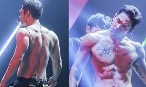 Mỹ nam Kpop gây sốt với body 6 múi đẹp như tượng tạc