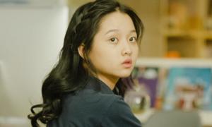 Sao nhí Thanh Mỹ ngại ngùng khi lần đầu đóng phim tình cảm
