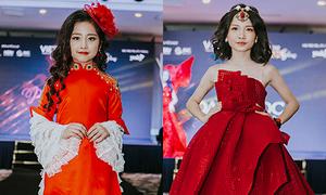 Hoa hậu, nam vương nhí gây bất ngờ vì catwalk chuyên nghiệp