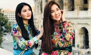 Em gái xinh đẹp từng đăng quang hoa hậu của diễn viên Kha Ly