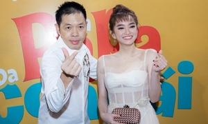 Kaity Nguyễn - Thái Hòa nghịch ngợm trong ngày ra mắt phim