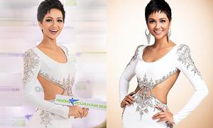 Diện đồ cũ sau Miss Universe, H'Hen Niê chứng minh là 'hoa hậu giản dị'