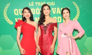 Hoa hậu, cầu thủ tụ hội trong lễ trao giải Quả bóng Vàng 2018