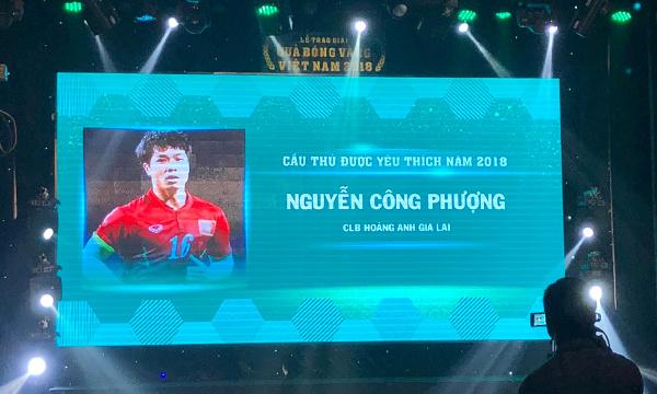 Quang Hải đoạt danh hiệu Quả bóng vàng Việt Nam 2018 - 4