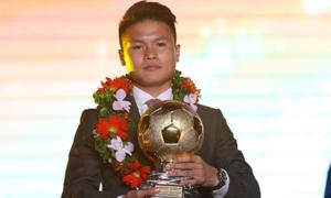Quang Hải đoạt danh hiệu 'Quả bóng Vàng Việt Nam 2018'