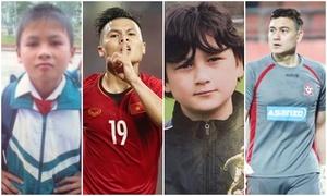 Ảnh 'dậy thì thành công' của các cầu thủ Việt dự Asian Cup 2019