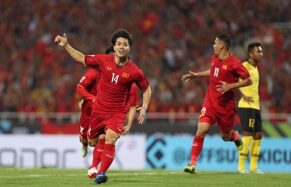Công Phượng tại giải AFF Cup.