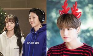 Sao Hàn mừng Giáng sinh: BTS khoe ảnh lung linh, Jung Hae In sánh đôi Seol Hyun