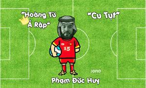 Nguồn gốc nick name siêu dễ thương của tuyển thủ Việt Nam