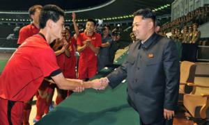 Chollima - tuyển bóng đá từng 'có số có má' và rất tham vọng của Triều Tiên