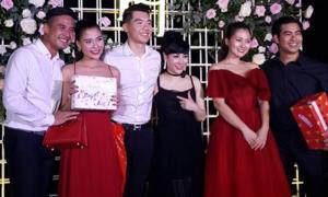 Một tháng sau hôn lễ ở Hà Nội, Trương Nam Thành tổ chức tiệc cưới ở TP HCM