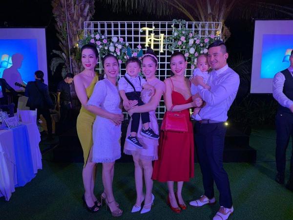 Dương Cẩm Lynh, Thúy Diễm đưa contới dự đám cưới Trương Nam Thành và hội ngộ Ốc Thanh Vân, Trịnh Kim Chi.