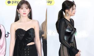 Thảm đỏ SBS Gayo Daejun 2018: Irene, Jennie đua nhau diện đồ khoe vòng một