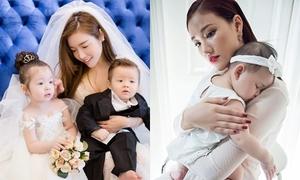 Những sao Việt bất ngờ công khai chuyện sinh con