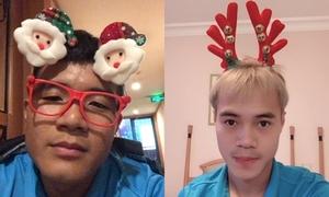 Hà Đức Chinh, Văn Toàn phản ứng khi bị 'troll' như con gái trong đêm Noel