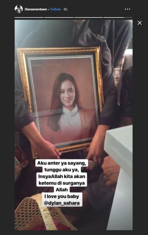 Ifan công khai di ảnh vợ trên trang cá nhân.