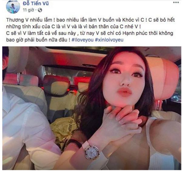 Khánh My ngọt ngào bên hot boy Tháng năm rực rỡ Tiến Vũ - 2