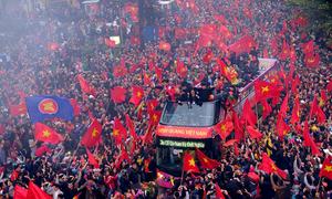 Những khoảnh khắc đẹp của bóng đá Việt Nam 2018