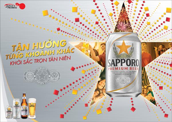 Nguyên liệu sử dụng trong sản xuất bia Sapporo được chọn lọc kỹ lưỡng để cho ra những giọt bia thơm ngon.
