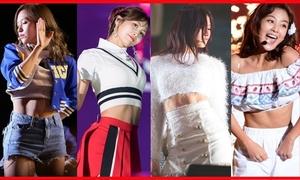 Ngắm vòng eo 'con kiến' của các mỹ nữ Twice