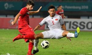 Báo châu Á đánh giá Đoàn Văn Hậu là sao sáng U21 tại Asian Cup