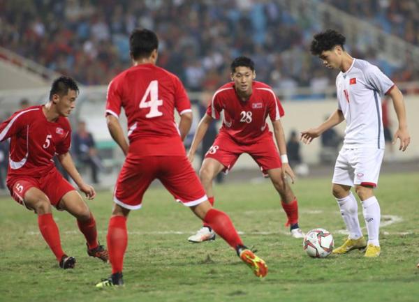 Việt Nam có trận đấu giao hữu với Triều Tiên trước khi bước vào giải đấu Asian Cup vào đầu tháng 1/2019.